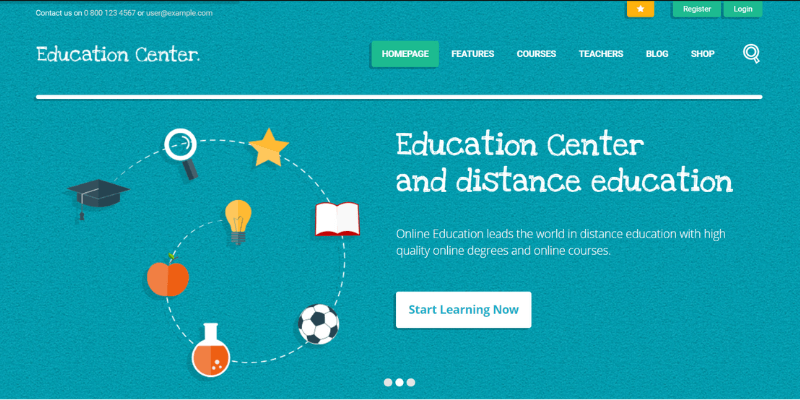 web giáo dục