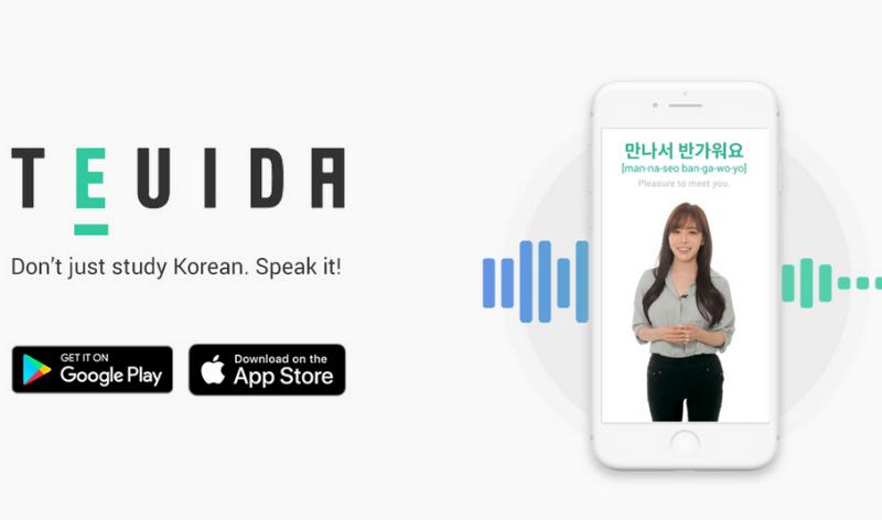 phần mềm học tiếng Hàn Teuida
