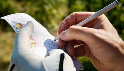 Cách tính điểm golf trên scorecard đơn giản cho golfer mới