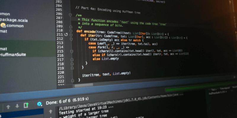 viết code