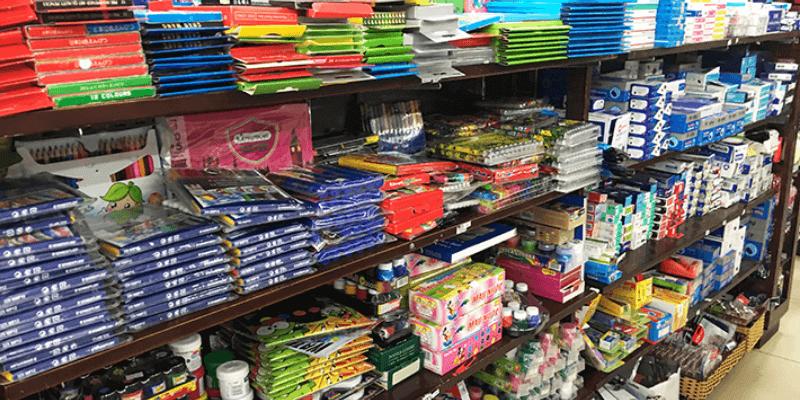 cửa hàng đồ dùng học tập
