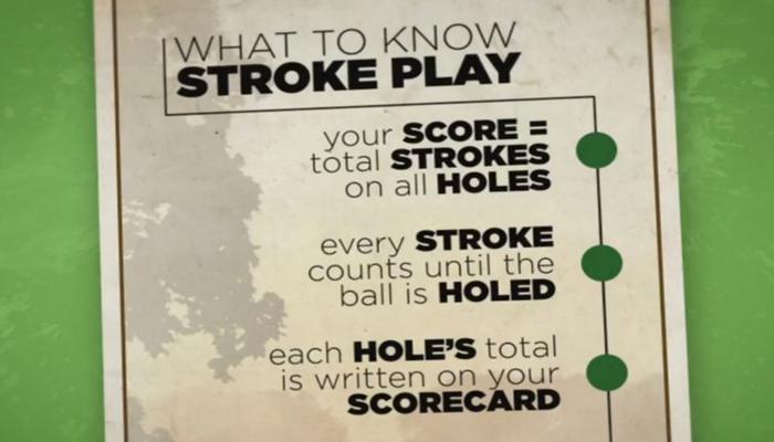 Hướng dẫn tính điểm chơi Stroke Play cơ bản